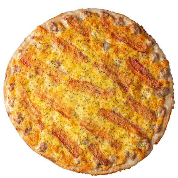 Egg-ceptional pizza